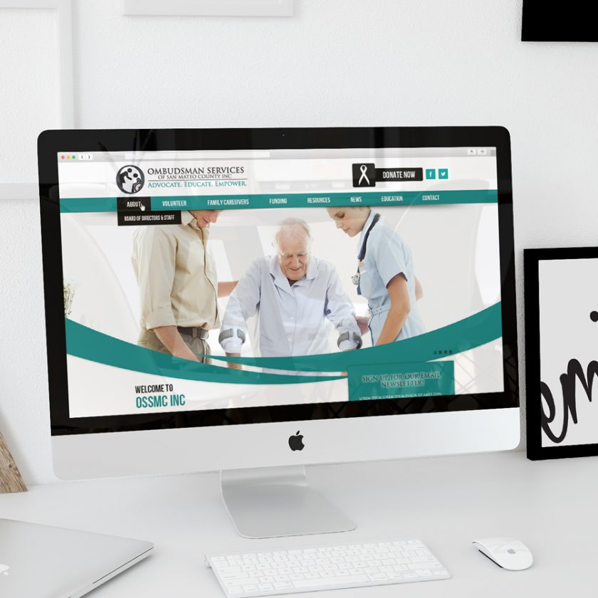 Healthcare Industry Website Mockup