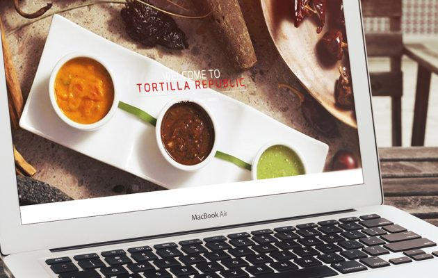 Restaurant Website Design Tortilla Republic