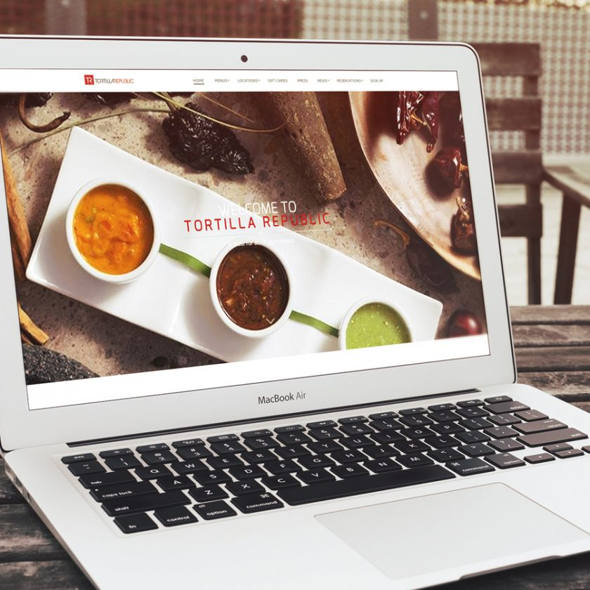 Restaurant Website Design Tortilla Republic
