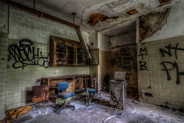 atlanta photgrapher hdr abandoned building