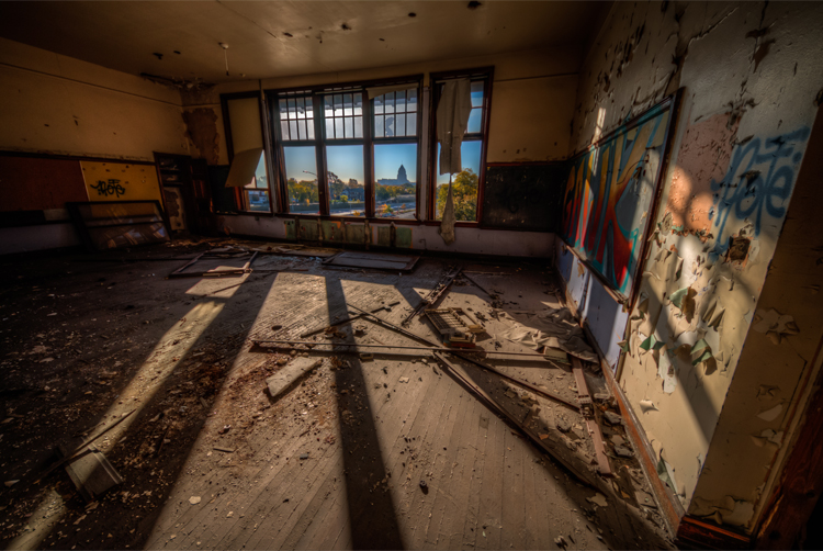 atlanta photographer hdr abandoned detroit