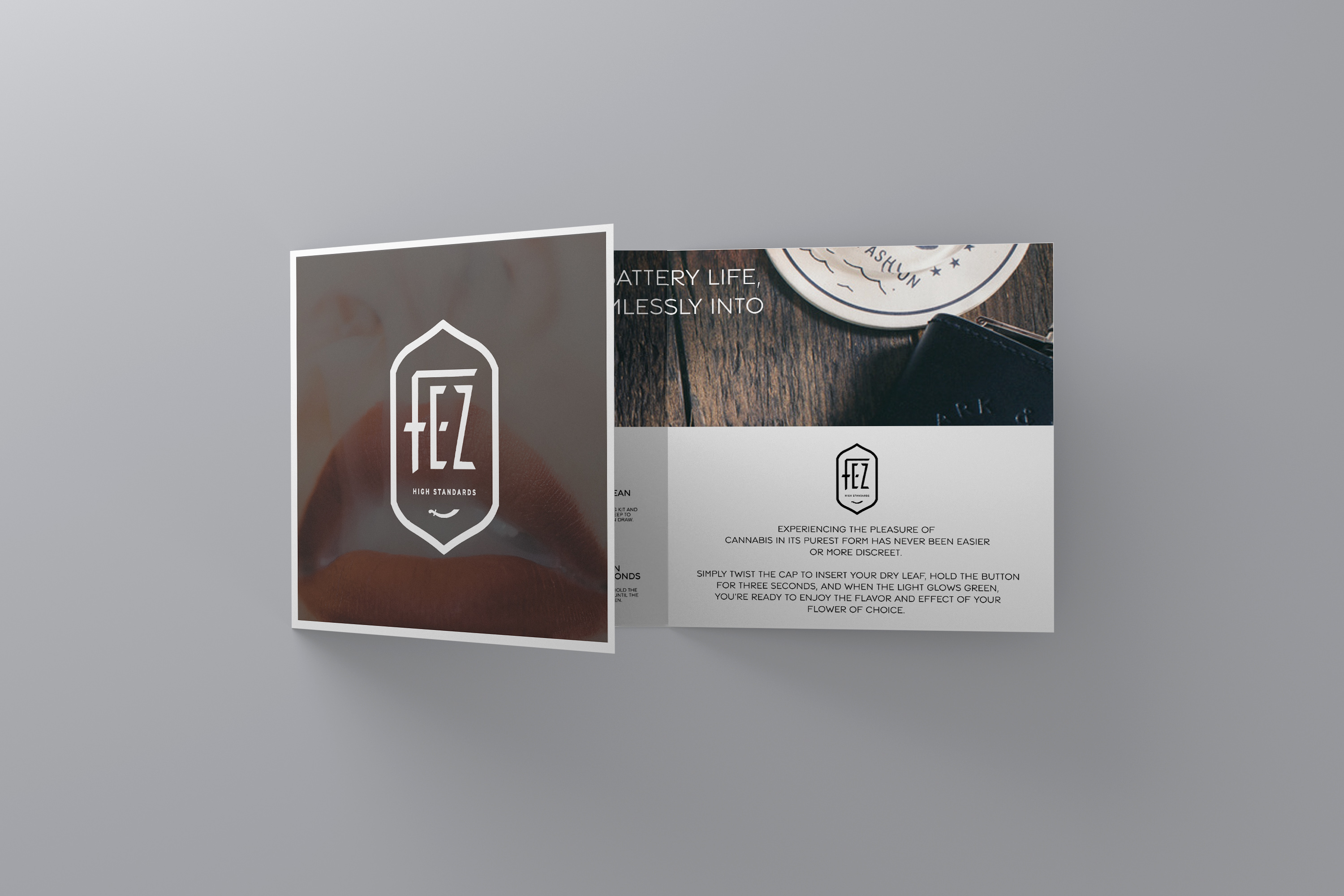Fez dry herb vaporizer square brochure
