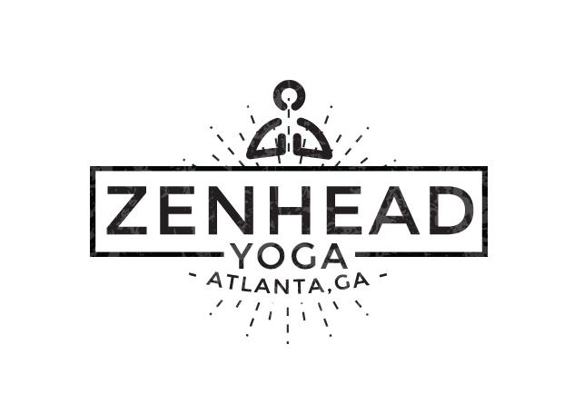Zenhead yoga studio logo