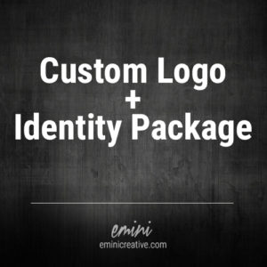Custom logo design and visual identity branding
