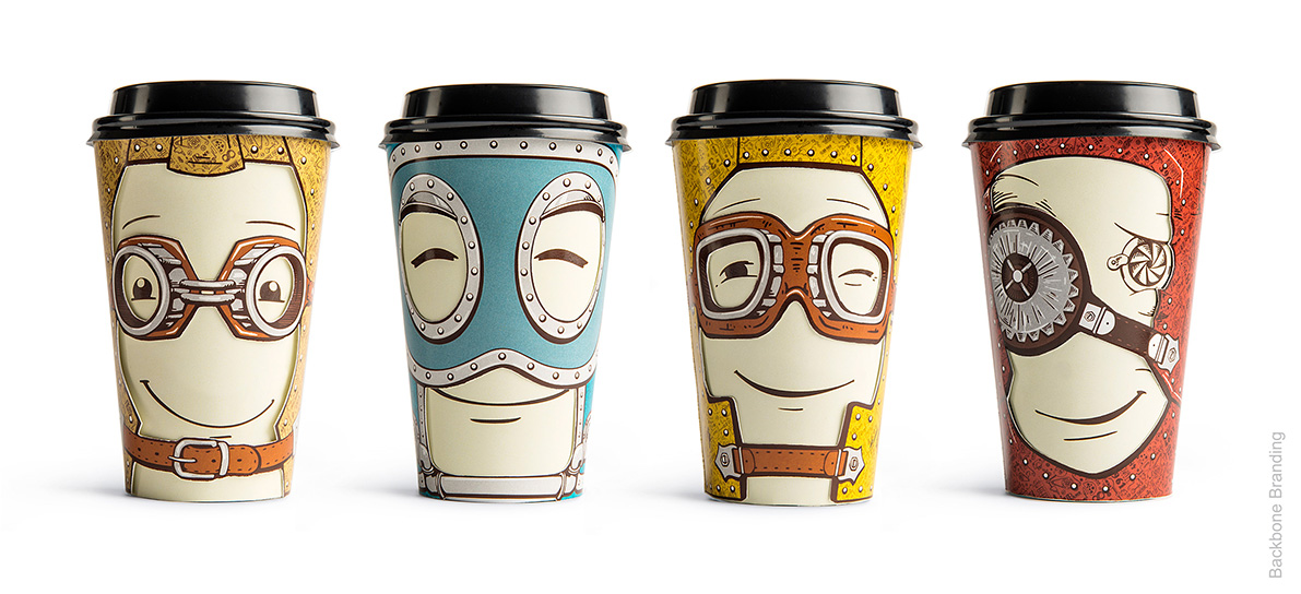 Clever coffee cups
